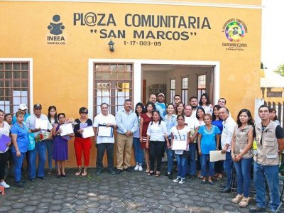 "<a href=""/noticias/reinauguracion-de-la-plaza-comunitaria-san-marcos"">REINAUGURACIÓN DE LA PLAZA COMUNITARIA SAN MARCOS</a>"